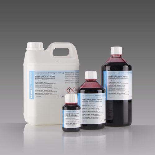 Hematoxylin HP, Pap 1B