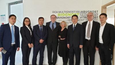 Huzhou Committee delegation visit BioGnost